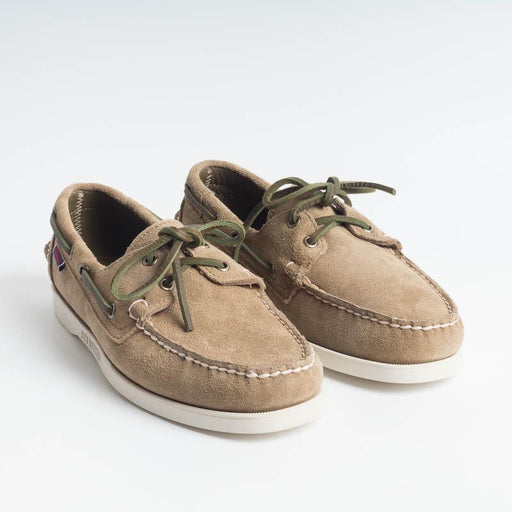 SEBAGO - Docksides Portland Suede - 7000G90 - Green Military Sebago Men Shoes