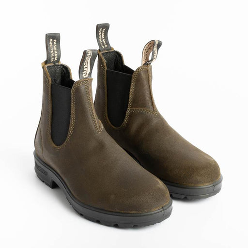 BLUNDSTONE - 1615 - DARK OLIVE SUEDE Blundstone Blundstone collection