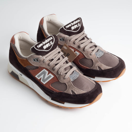 NEW BALANCE - AI 18/19 - 991.5 FT - Solway Excusion - Marrone Mattone Beige