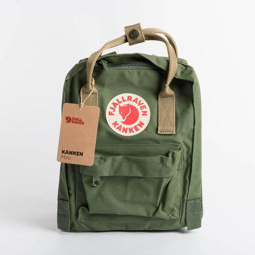 FJÄLLRÄVEN Kånken Mini 621-221 Spruce Green - Clay Backpack Fjallraven