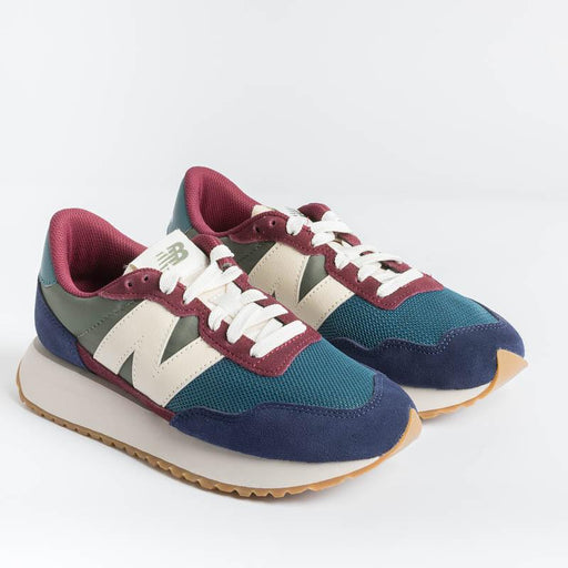 NEW BALANCE - Sneakers WS237MA1 - Teal Blue Women's Shoes NEW BALANCE - Women's Collection