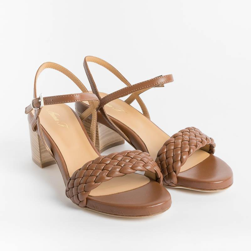 ANNA F. - Sandal 3368 - Leather Women's Shoes Anna F.