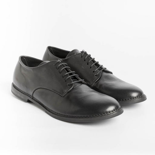 PANTANETTI - Derby - 14412E - Guelfo Black Men's Shoes PANTANETTI - Man