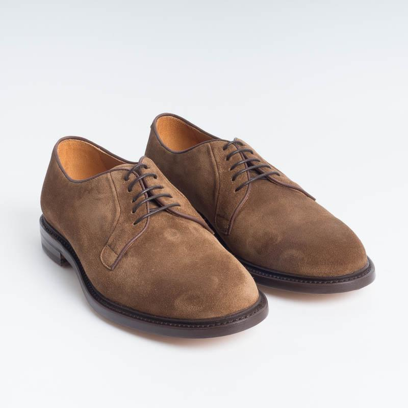 BERWICK 1707 - 5137 - Derby - Florence Walnut Men's Shoes Berwick 1707