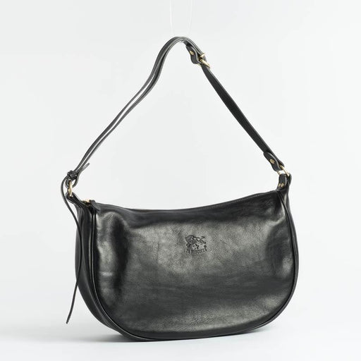 IL BISONTE - Continuativo - A0322 - Shoulder Bag - Black Bags Il Bisonte