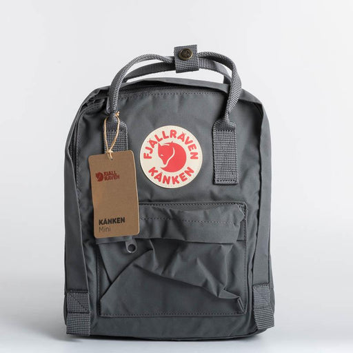 FJÄLLRÄVEN Kånken Mini 046 Super Gray Backpack Fjallraven