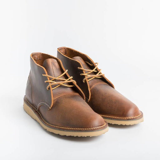 RED WING SHOES - Ankle boot Men's Chukka 3322 - Copper