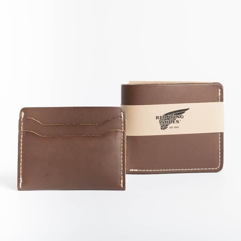 RED WING - Card Holder - Amber Frontier Leather Men's Accessories Red Wing Shoes