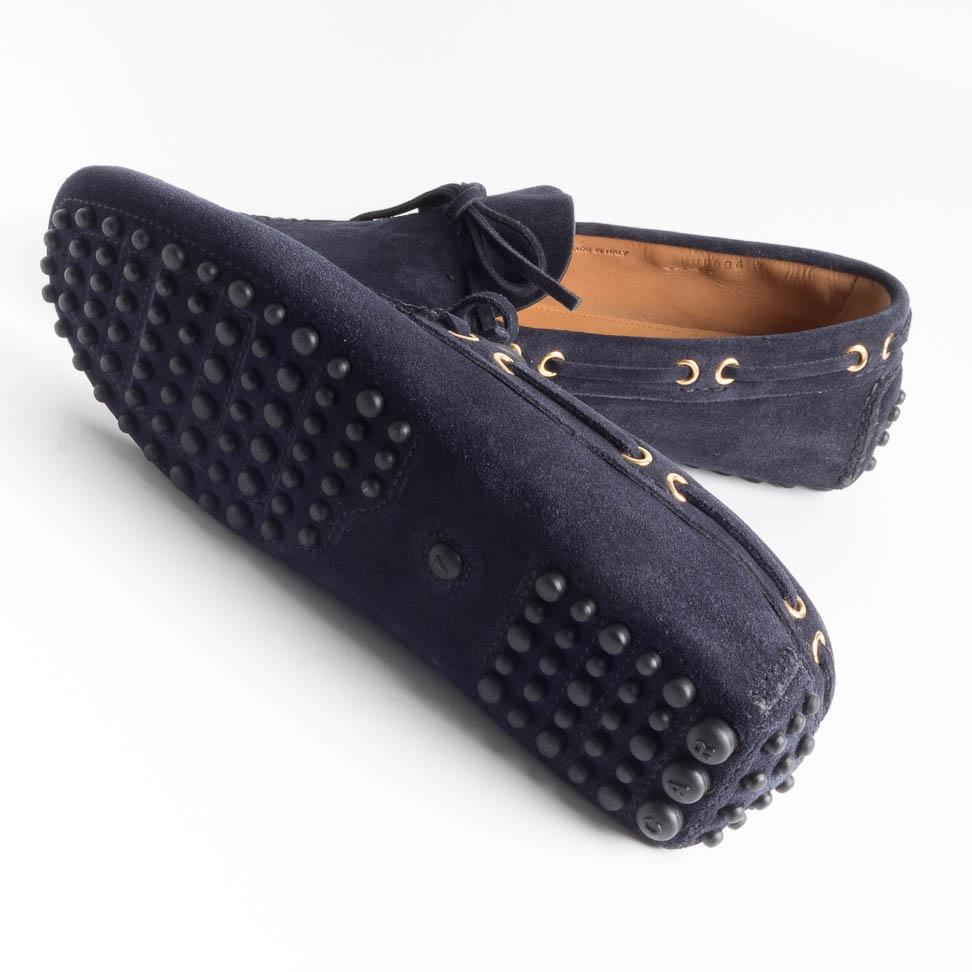 CAR SHOE - SS 2019 - KUD 006 - Suede 8 - Blue Men's Shoes CAR SHOE - Men's Collection
