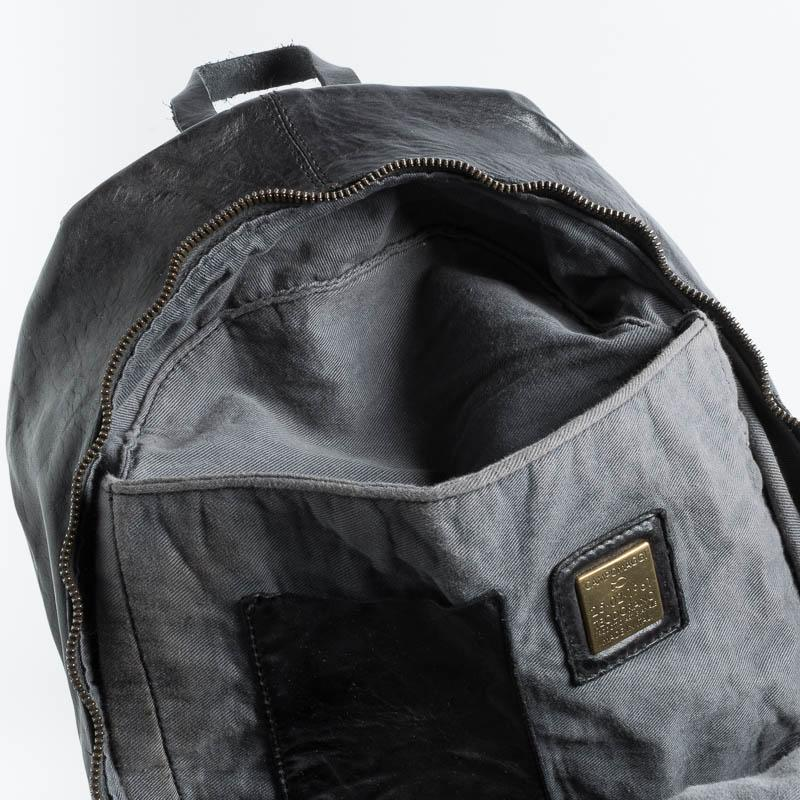 CAMPOMAGGI - Backpack - C021530 - Cognac or Dark Brown Men's Accessories CAMPOMAGGI - Men's Collection