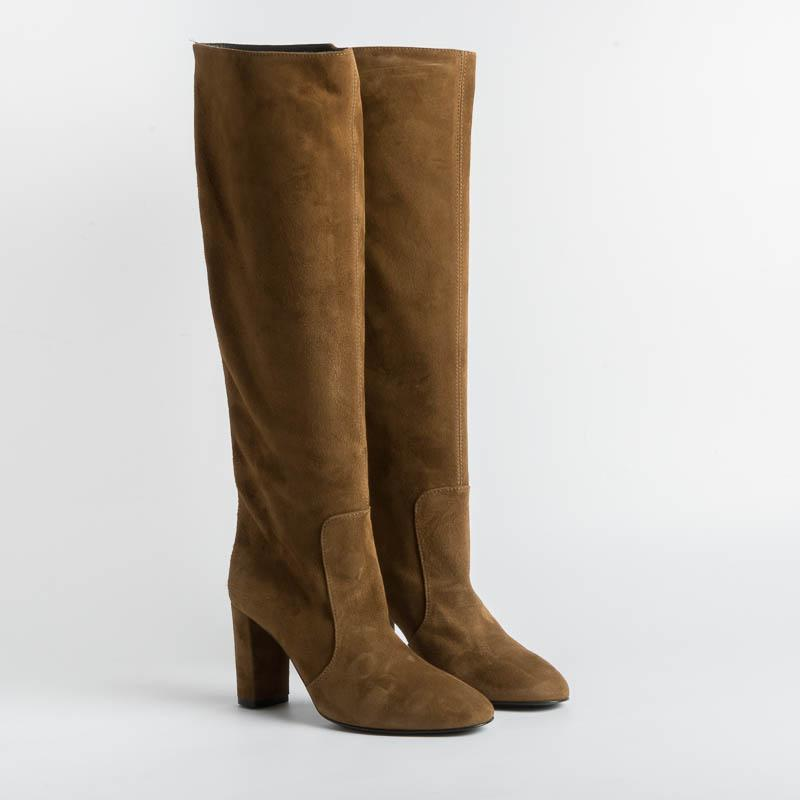 VIA ROMA 15 - Boot 3434 - Suede Leather Shoes Woman Via Roma 15
