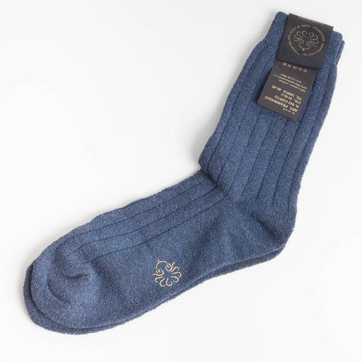 ALTO MILANO - 0042UC - Sock - Blue 04 High Milan Men's Accessories