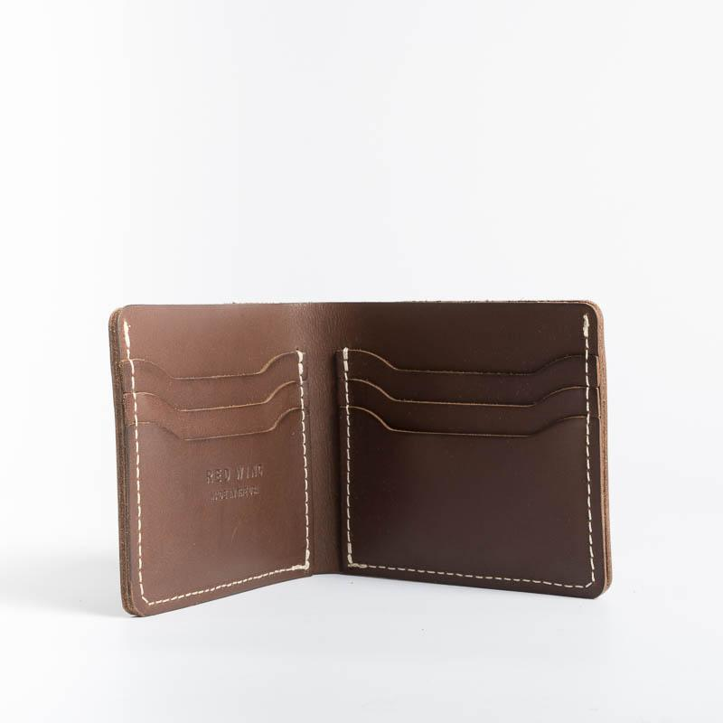 RED WING - Classic Bifold - Amber Frontier Leather Men's Accessories Red Wing Shoes