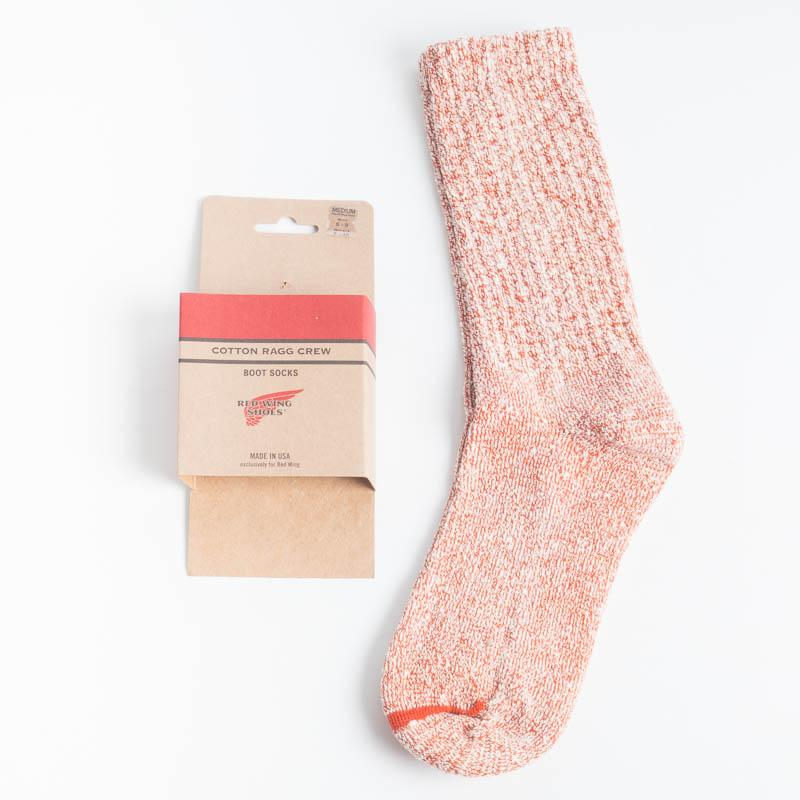 RED WING SHOES - sock - red Men's Accessories Red Wing Shoes SMALL 3-6