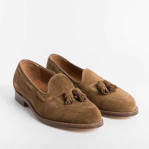 ALDEN - 3403 - Tassel Loafer - Snuff Suede - Call to Buy Alden Men's Shoes