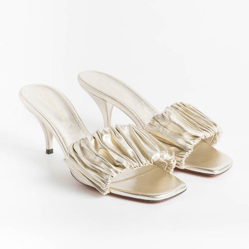 SANTONI - Sandals 59289 - Platinum Santoni Women's Shoes - Women's Collection