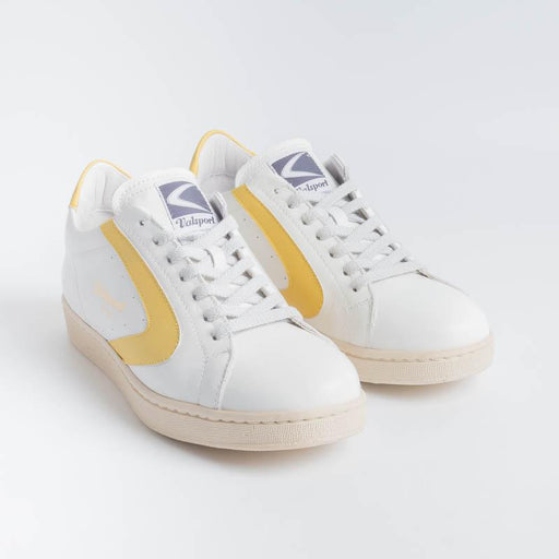 VALSPORT - Tournament Sneakers - White Yellow VALSPORT 1920 Women's Shoes