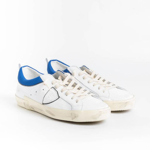 PHILIPPE MODEL - PRLU VEC1 - ParisX - Bianco Bluette Scarpe Uomo Philippe Model Paris