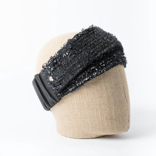 Copy of FLAPPER - Gia Headband - Black Women's Accessories FLAPPER - Genevieve Xhaet