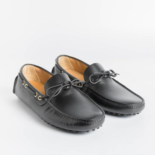 CAR SHOE - Loafer - KUD 006 - Black Leather Men's Shoes CAR SHOE - Men's Collection