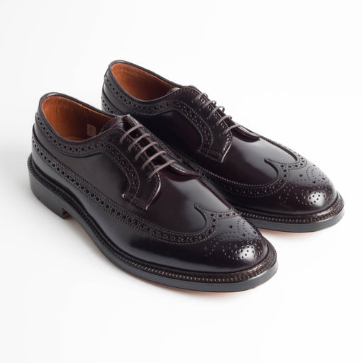ALDEN - 975 - Cordovan Duilio Derby - Bordeaux - Call to buy Alden Men's Shoes