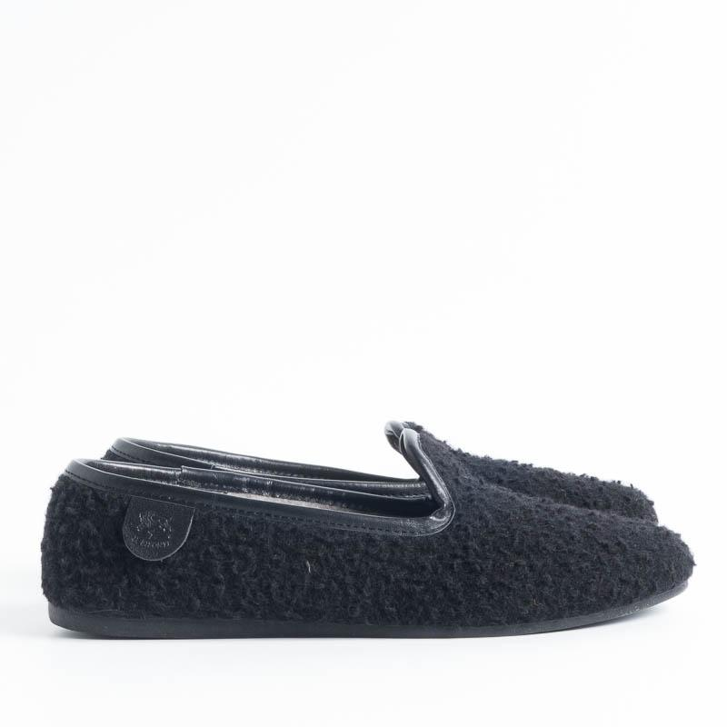 IL BISONTE - Casentino slipper H0607 - BLACK Il Bisonte women's shoes