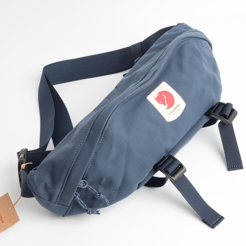 FJÄLLRÄVEN - Belt bag 23166 Ulvo Hip Pack Large - 570 Blue Backpack Fjallraven