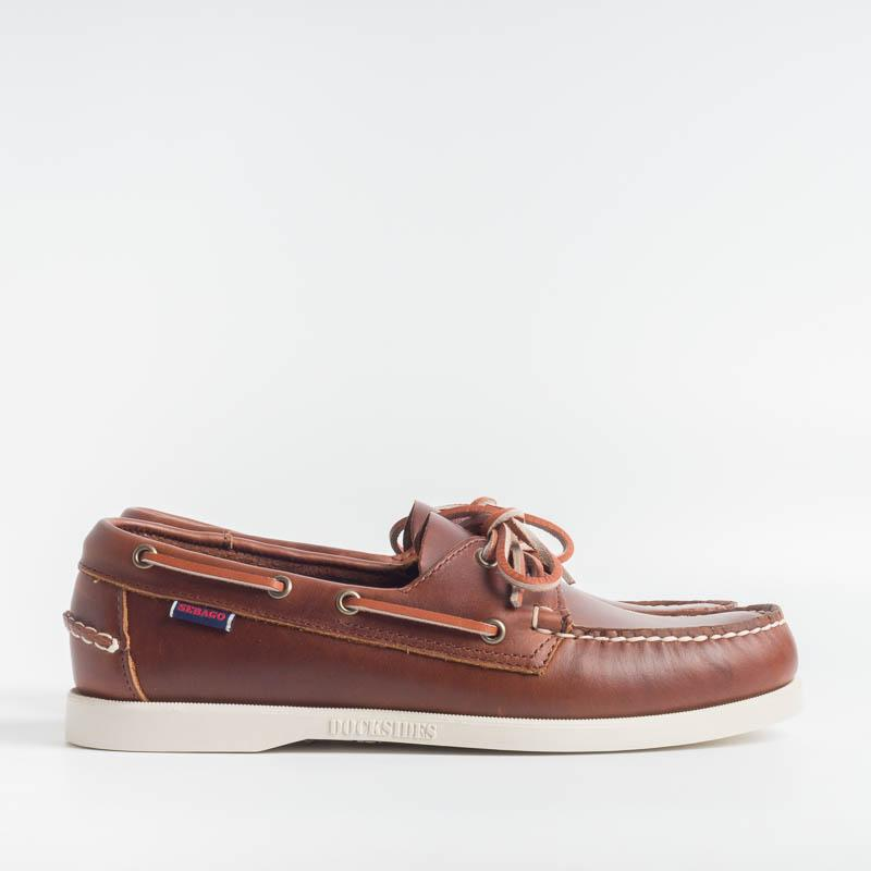 SEBAGO - Docksides Portland Waxed - 70000G0 - Brown Sebago Men Shoes