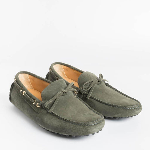 CAR SHOE - Moccasin - KUD 006 - Suede Camouflage Men's Shoes CAR SHOE - Men's Collection