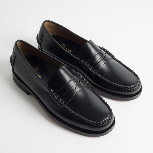 SEBAGO - SS 2019 - Loafer - Classic Dan - 7000300 - Leather - Black Men's Shoes Sebago