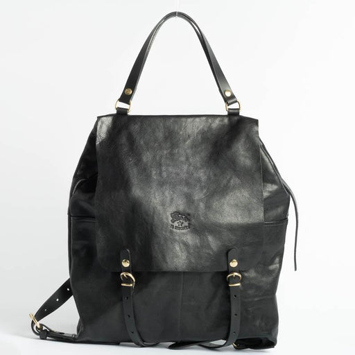 IL BISONTE - Continuativo - A2326 - Backpack - Black Bags Il Bisonte