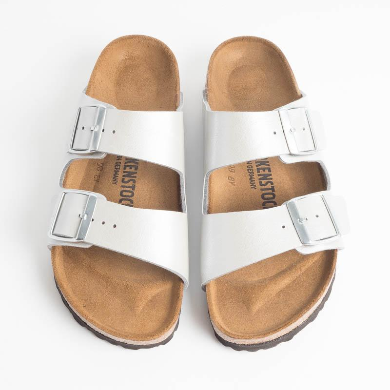 BIRKENSTOCK - PE 2019 - ARIZONA BS 1009603 Graceful Silver Scarpe Donna BIRKENSTOCK