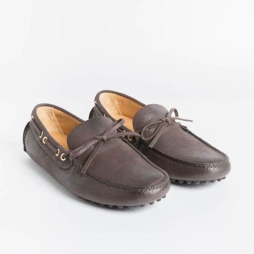 CAR SHOE - Loafer - KUD 006 - Ebony Goat Men's Shoes CAR SHOE - Men's Collection