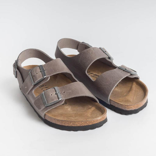 BIRKENSTOCK - Milano BS 1014900 - Gray / Iron Men's Shoes BIRKENSTOCK