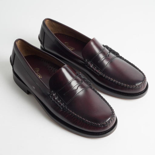 SEBAGO - SS 2019 - Loafer - Classic Dan - 7000300 - Leather - Burgundy Men's Shoes Sebago