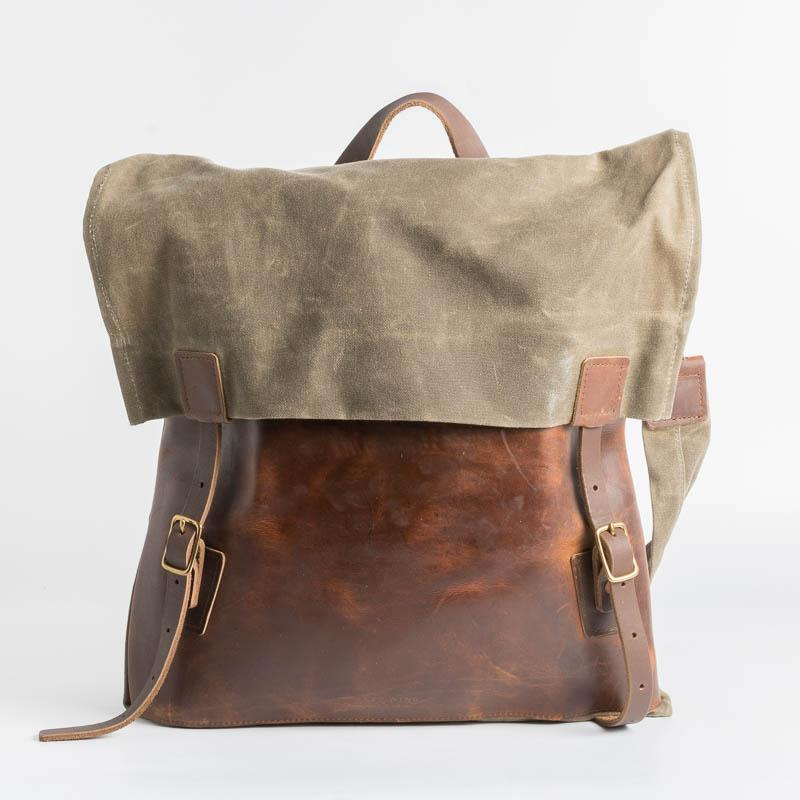 RED WING SHOES Backpack - Cowhide and fabric RED WING Backpack - Men's Collection