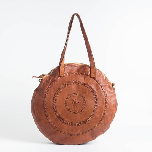 Copy of CAMPOMAGGI - Shoulder Bag - C012470 - Cognac Campomaggi Bags
