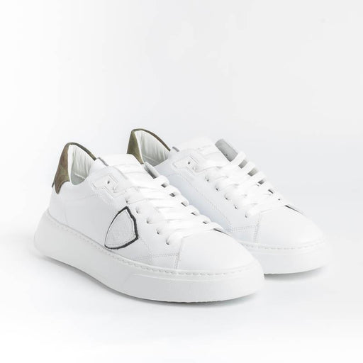 PHILIPPE MODEL - Temple - BTLU VC01 - Bianco Military Scarpe Uomo Philippe Model Paris