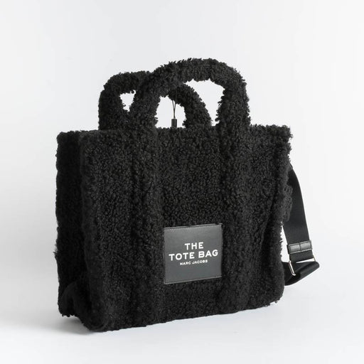 MARC JACOBS - 16740 - The Teddy Tote Bag - Black Bags Marc Jacobs