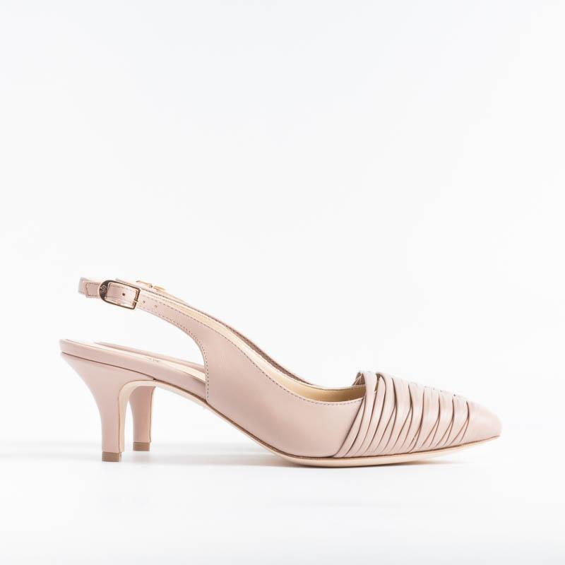 L'ARIANNA - Chanel - CH1227 - Feather - Beige Women's Shoes L'Arianna