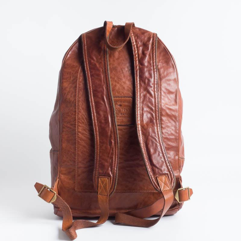CAMPOMAGGI - Backpack - C021530 - Cognac or Dark brown Accessories for Men Campomaggi