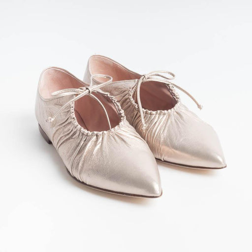 LORENA PAGGI - Ballerina 1202 - Metal Butter Women's Shoes LORENA PAGGI