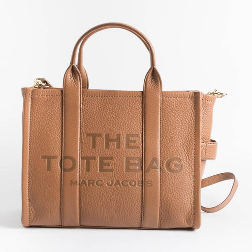 MARC JACOBS - HOO4L01PF21 - The Leather Small Tote Bag - Leather Bags Marc Jacobs