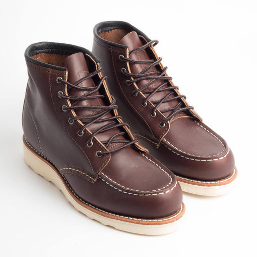 RED WING 3371 - Original Classic Moc - Mahogany Scarpe Donna Red Wing Shoes