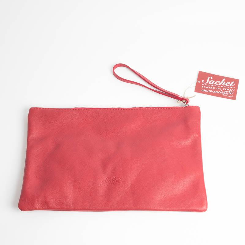 SACHET - Maxi Clutch NATUR - Various colors Bags SACHET RED