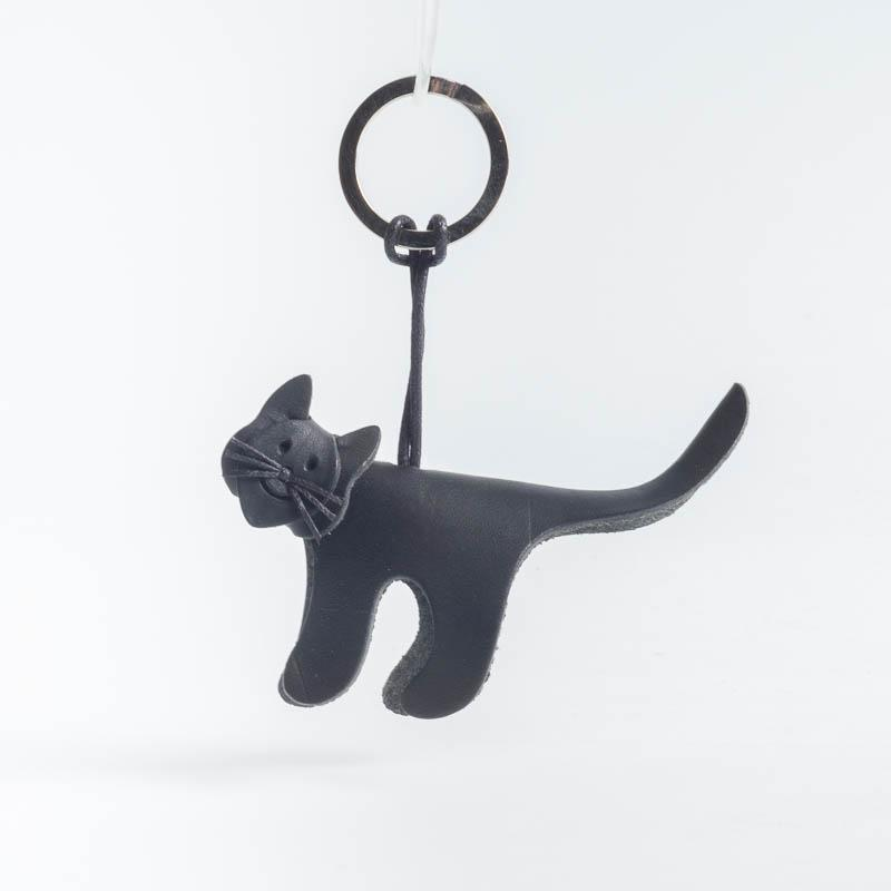 Cappelletto 1948 - Keychain - Cat Women's Accessories CappellettoShop black