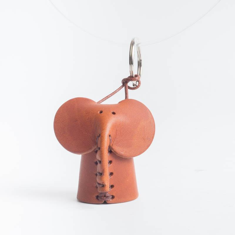 Cappelletto 1948 - Keychain - Elephant Women's Accessories CappellettoShop leather