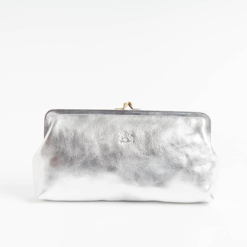 IL BISONTE - A0533 - Clutch bag - Various Colors Il Bisonte SILVER bags with 775