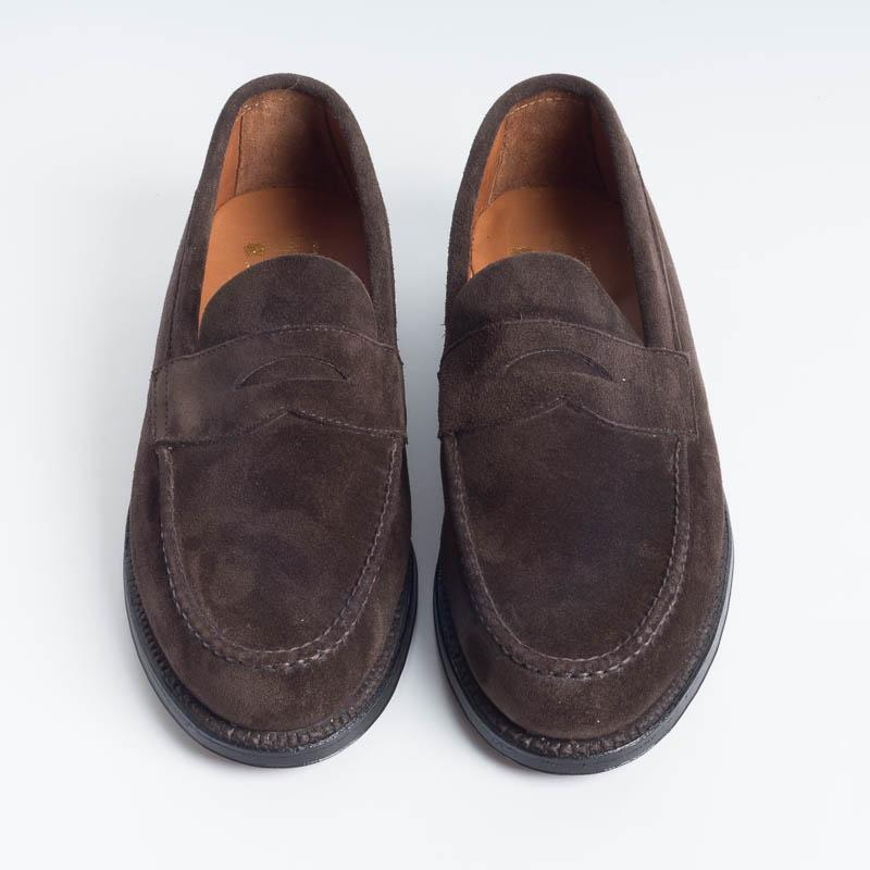 ALDEN - M7202 F - Dark Brown Loafer - Call To Buy Alden Men's Shoes
