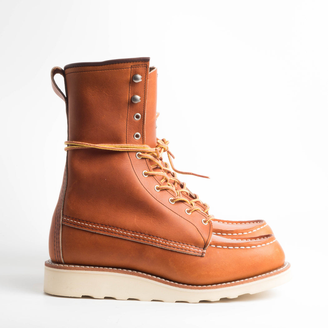 RED WING - FW2018 / 19 - 3427 - Original Classic Moc - Gold Legacy Shoes Woman Red Wing Shoes